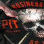 Pit Bull Рашгард Business As Usual Короткий Рукав Чёрный
