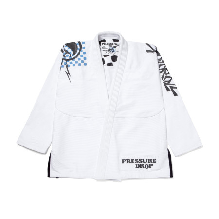 Shoyoroll PRESSURE DROP KIMONO (WHITE)